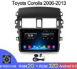 Android 2G-32G Toyota Corolla E140/150 2007-