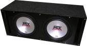 MTX XT10-04x2 vented box