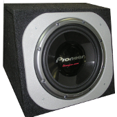 Pioneer TS-W308F box